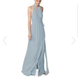 Joanna August Amber Long bridesmaid dress